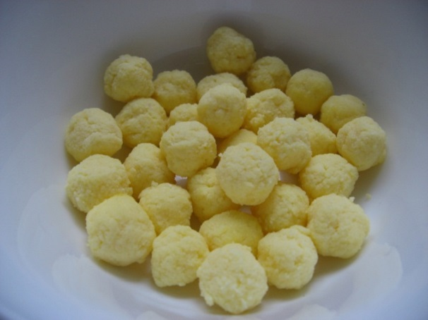 Шарики с желтком