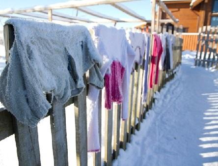 Вымораживаем одежду от моли