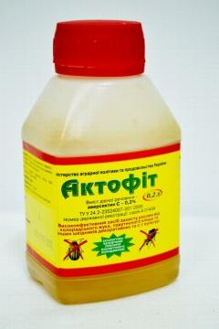 Актофит против морковной мухи