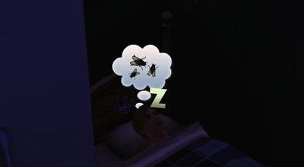 мушки во сне