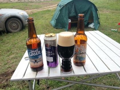 пиво на природе