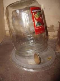 Ловушка для мышей из банки и монетки