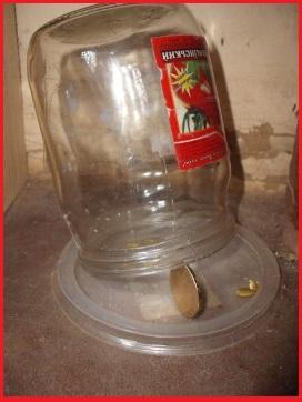 ловушка для мышей из банки