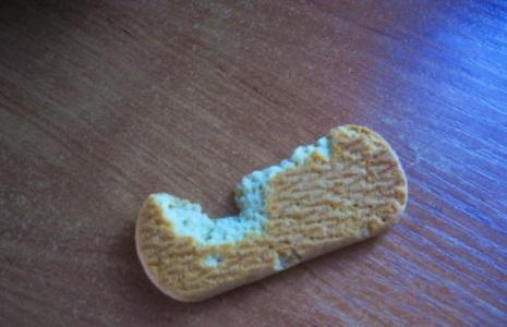 мыши погрызли печеньку