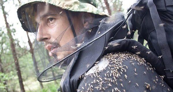 специальная одежа от комаров в лесу